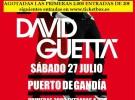 David Guetta, comunicado oficial sobre su concierto en Gandía