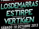 Maldito Records celebra su 15º aniversario junto a Los de Marras, Estirpe y Vertigen en Valencia