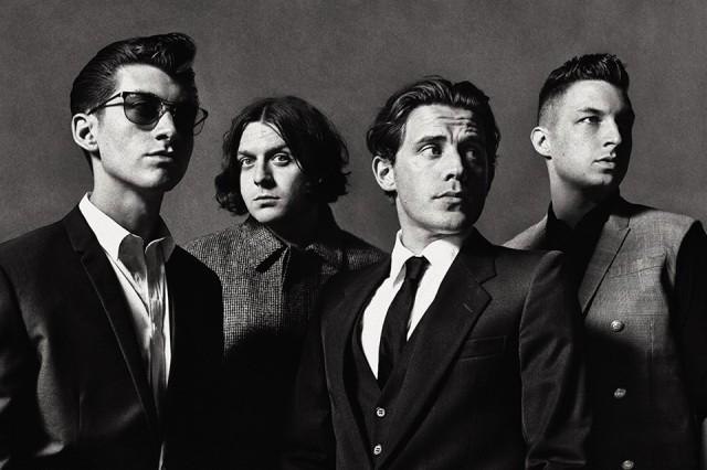 Arctic Monkeys, número uno en streaming del Reino Unido