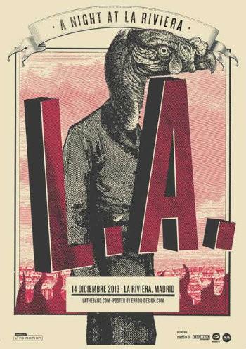 L.A. La Riviera Madrid cartel