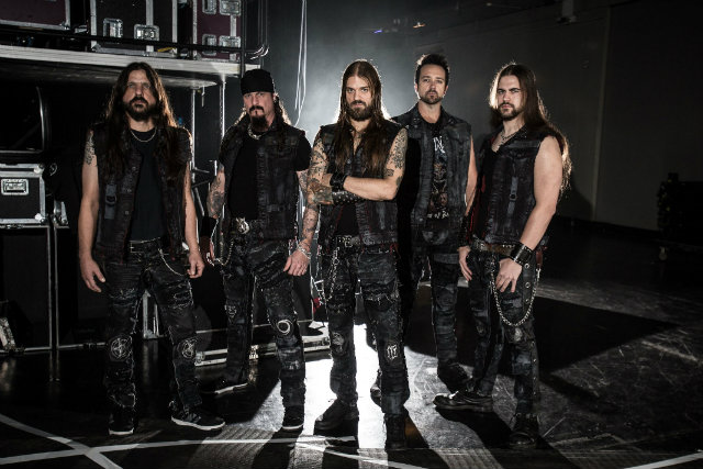 Iced Earth promo España 2014