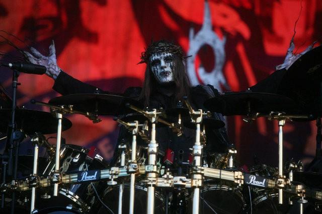 Joey Jordison Slipknot batería