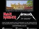 Iron Maiden y Metallica, cabezas de cartel del Sonisphere 2014