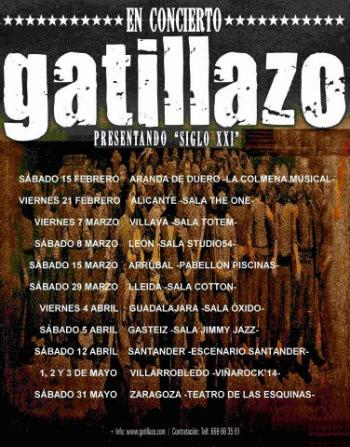 Gatillazo continúan su gira de presentación de 'Siglo XXI'