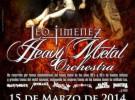 Leo Jiménez anuncia sus primeras fechas en España con 'Heavy Metal Orchestra'