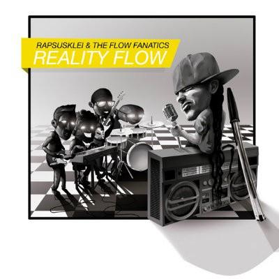 Rapsusklei y The Flow Fanatics Reality Flow portada nuevo disco 2014