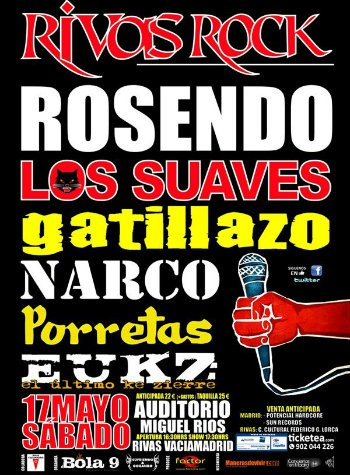 Rivas Rock cartel 2014