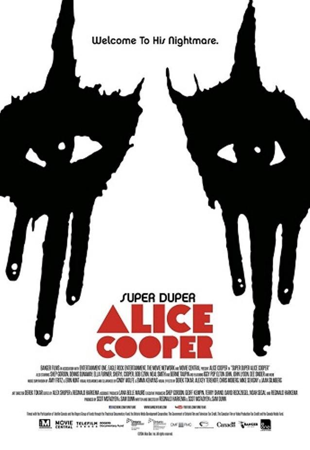 Alice Cooper, trailer del documental Super Duper Alice Cooper