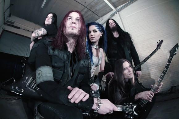Arch Enemy Nueva formación 2014 Alissa White-Gluz