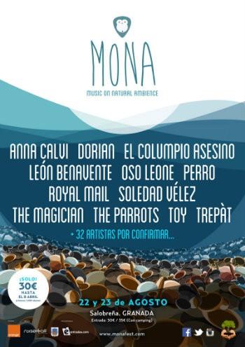 Mona Fest confirma a Dorian, El Columpio Asesino, León Benavente, The Parrots y más