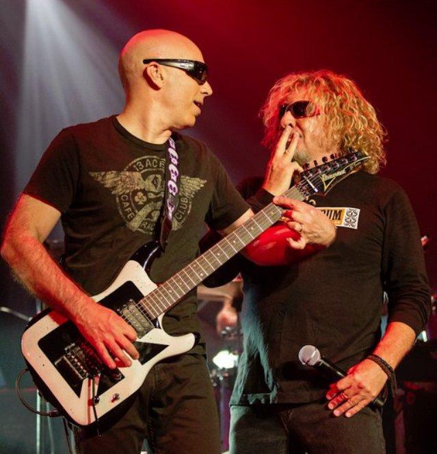 """Joe Satriani: """"Chickenfoot podríamos editar algo en 2018"""""""