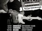 Ben Poole, gira por España en abril