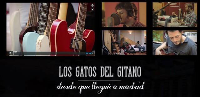 """Los gatos del gitano editan el vídeo de """"Desde que llegué a Madrid"""""""