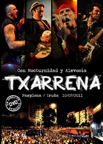 Txarrena Con nocturnidad y alevosía DVD portada El Drogas Maldito Records
