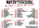 Space Ibiza, fiesta de inauguración el 25 de mayo
