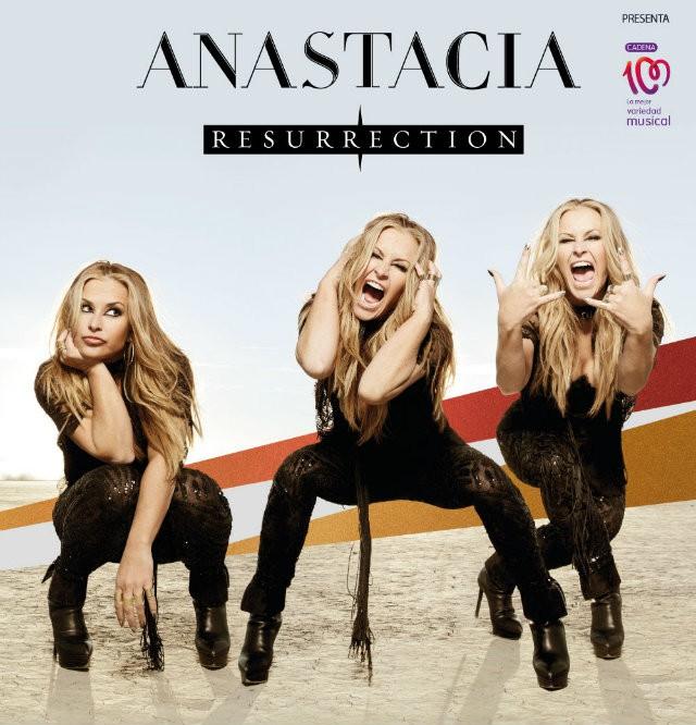 Anastacia cartel concierto España Madrid octubre 2014