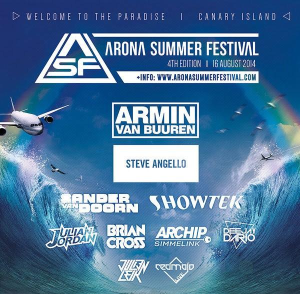 Arona Summer Festival cartel 2014