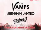 The Vamps, Abraham Mateo y Union J actuarán en el Coca Cola Music Experience