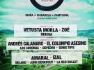 Tres Sesenta Festival con Andrés Calamaro, Amaral y vetusta morla como platos fuertes