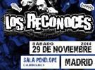 Los Reconoces, último concierto el 29 de noviembre en Madrid
