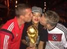 Rihanna celebra la victoria de Alemania en el Mundial