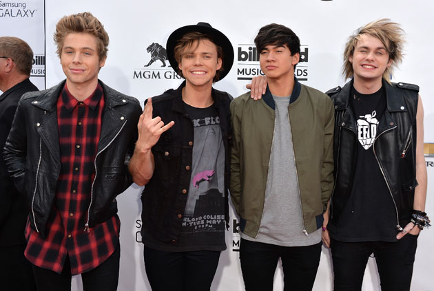 5 Seconds of Summer quieren editar su nuevo disco en 2015