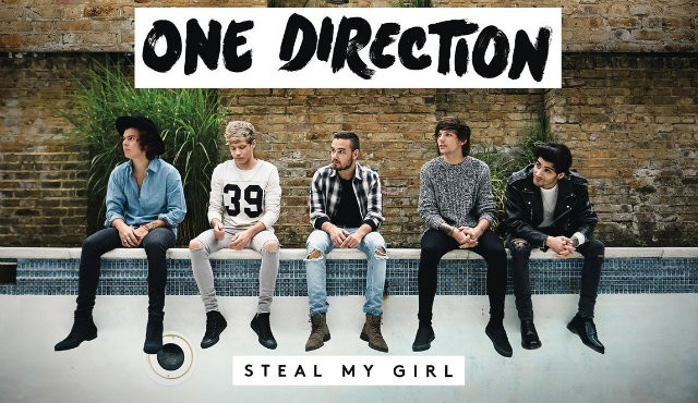 One Direction Steal my girl portada
