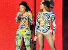 Nicki Minaj y Beyonce, juntas sobre el escenario en París
