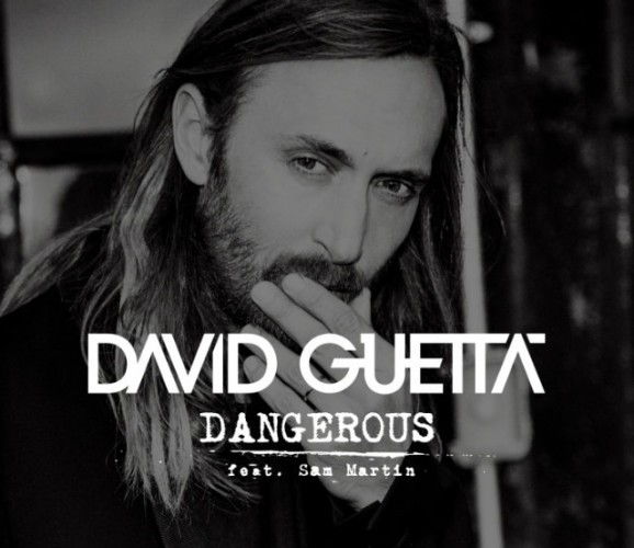 David Guetta Dangerous portada feat Sam Martin