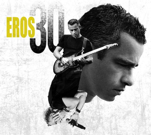 Eros Ramazzotti canta con Ricky Martin o Amaia Montero en su nuevo disco