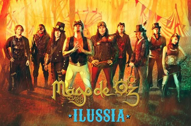 Mägo de Oz, éxito en Rusia y sorpresa para su concierto en Murcia