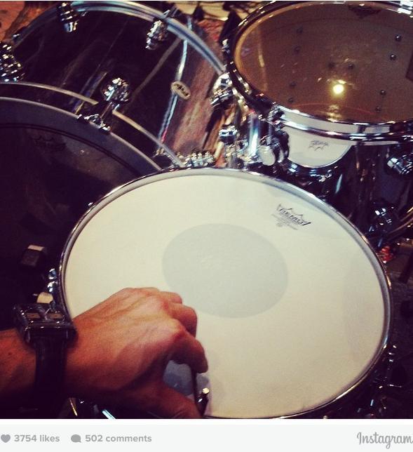Muse estudio de grabación batería Dom Howard