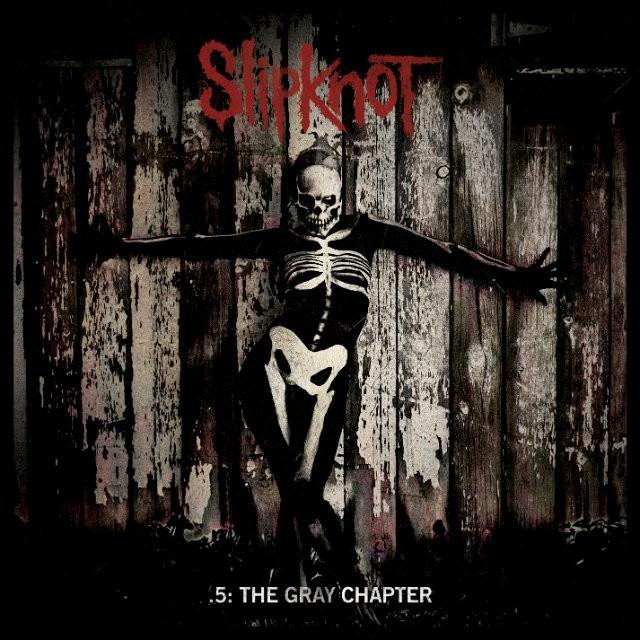 Slipknot 5 The Gray Chapter portada