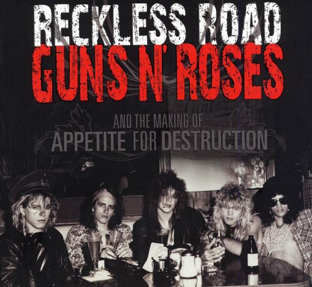 Guns'n'Roses Reckless road portada libro