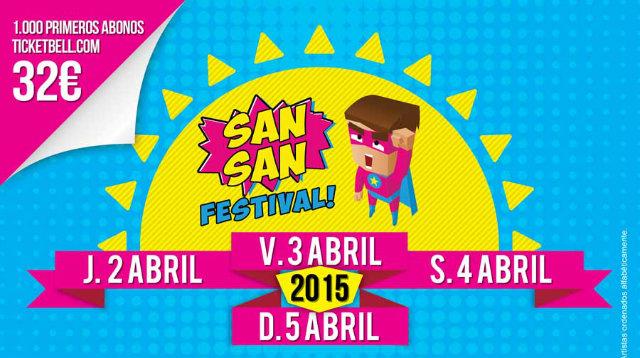 Sansan Festival cartel 2015