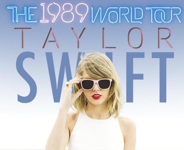 Taylor Swift gira mundial Estados Unidos Europa cartel