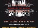 Michael Schenker's Temple of Rock, detalles de su gira por España