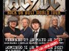 AC/DC agotan las entradas para sus conciertos en España
