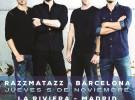 Nickelback, gira por España en noviembre de 2015