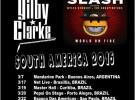 Slash y Gilby Clarke, gira por Latinoamérica en marzo