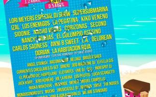 SanSan Festival 2015, horarios del festival