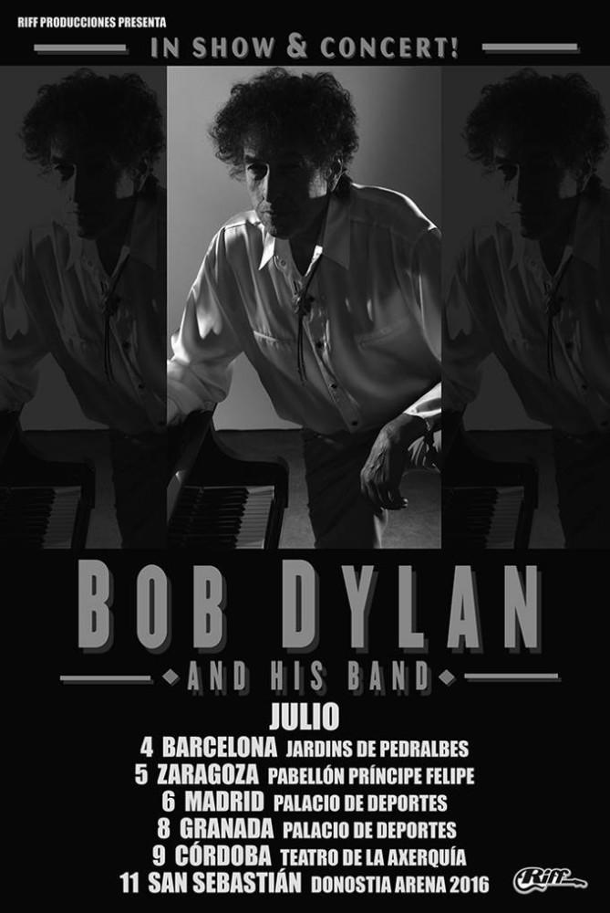 Bob Dylan, gira por España en julio