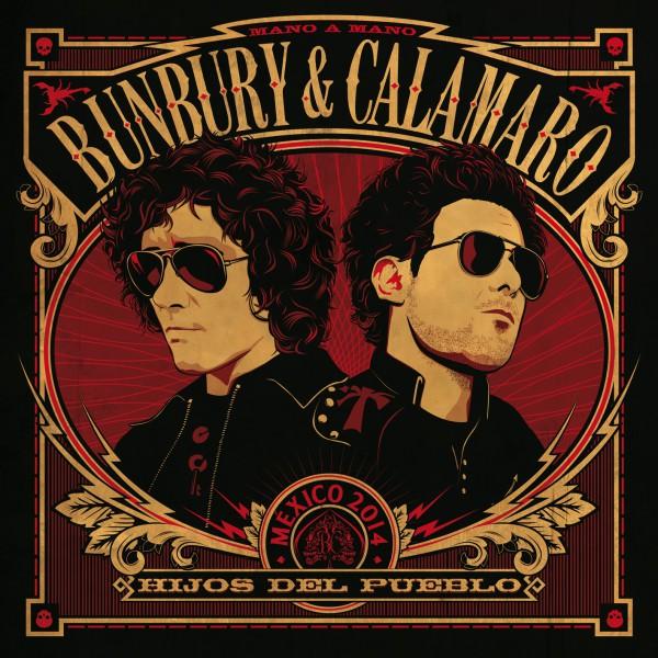 """Bunbury & Calamaro presentan """"Crimen"""", primer single de Hijos del pueblo"""