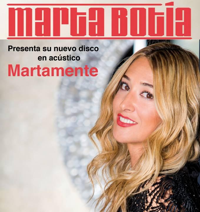 """Marta Botía editará """"Martamente"""" a finales de abril"""