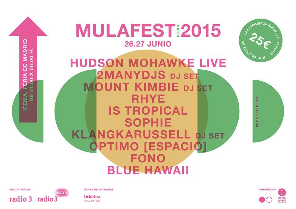 Mulafest 2015, primeras bandas confirmadas