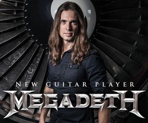 Megadeth, Kiko Loureiro es el nuevo guitarrista de la banda