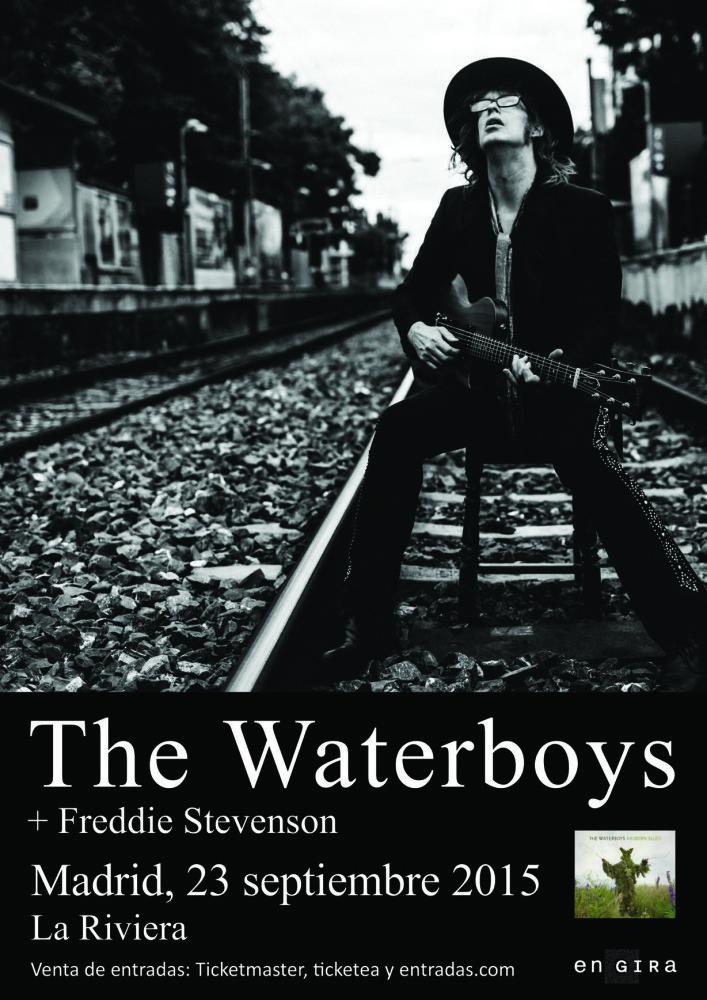 The Waterboys, el 23 de septiembre concierto en Madrid