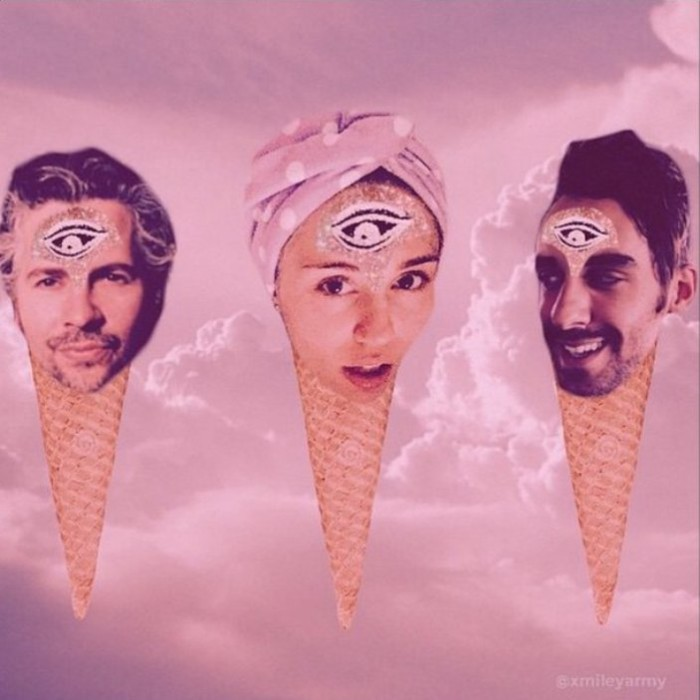 Miley Cyrus y Wayne Coyne (Flaming Lips) editarán un disco juntos