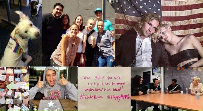 """Miley Cyrus, detalles sobre su colaboración con """"The Happy Hippie Foundation"""""""
