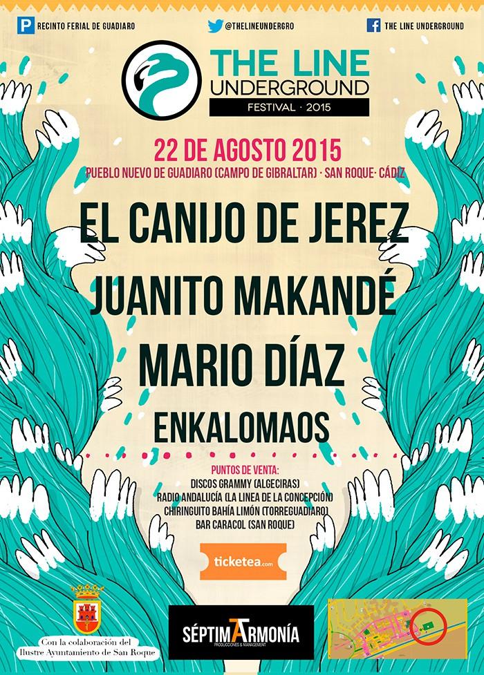 The Line Underground, festival en San Roque (Cádiz) el 22 de agosto